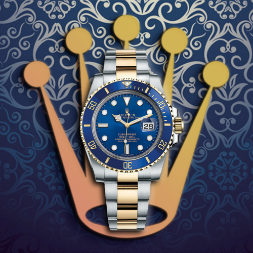 롤렉스 Submariner Date Yellow Combi Blue Dial Automatic Movement - 레플월드