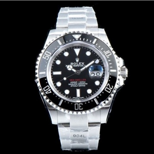 롤렉스 Upgrade!!! Deepsea Sea Dweller Dial Automatic Movement - 레플월드